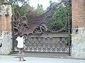 Drac i porta del Jardí de les Hespèrides P1440909.JPG