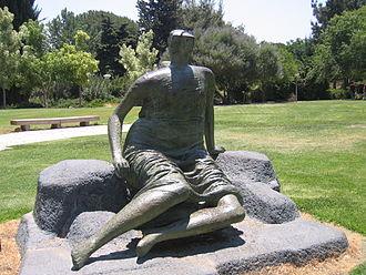 Draped Seated Woman 1957–58 - Image: Draped seated figure