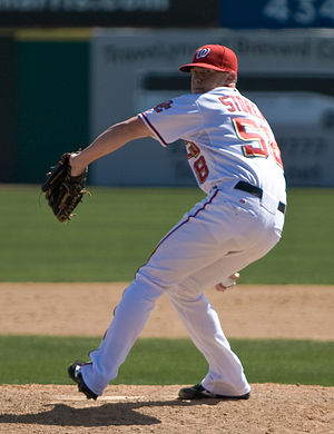 Drew Storen - Storen as a rookie at 2010 spring training