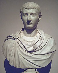 Bust of Drusus the Younger, son of Tiberius. In a conspiracy that involved his own wife Livilla, Drusus was poisoned in 23 by agents of Sejanus.