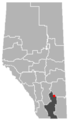Duchess, Alberta Location.png