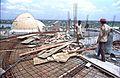 Dynamotion Hall Under Construction - Science City - Calcutta 1996-05-06 847.JPG