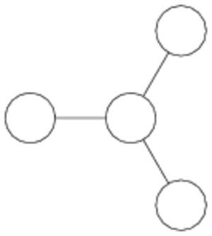 SO(8) - Dynkin diagram of SO(8), (D4)