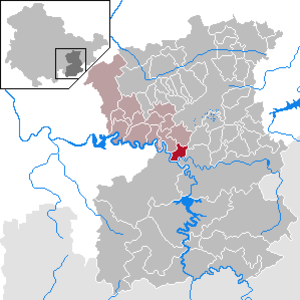 Eßbach - Image: Eßbach in SOK