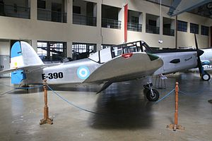 Percival Prentice - Prentice T.1, Museo Nacional de Aeronáutica, Argentina
