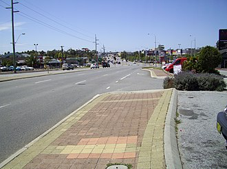 Scarborough Beach Road - Looking east, in Innaloo