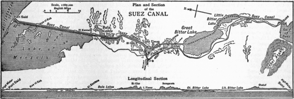 EB1911 Suez Canal , plan and section.png