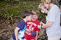 Each summer one of the most popular programs at Hungry Mother State Park is the Critter Crawl where the participants investigate what lives in a creek at the park. - AA (18931626820).jpg
