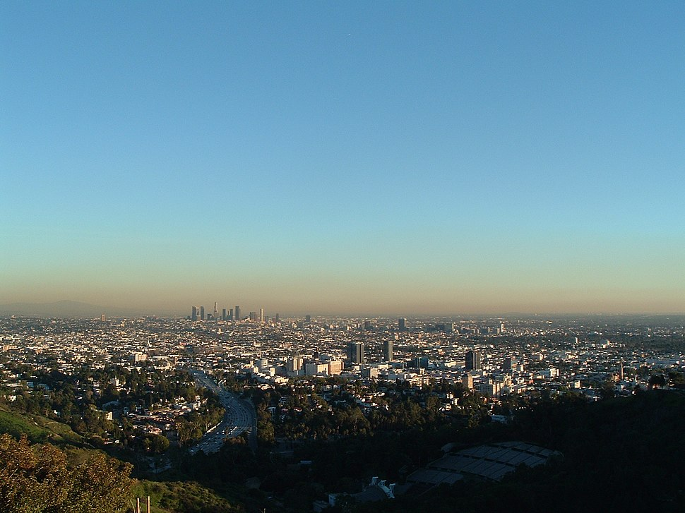 East LA Basin from Mulholland