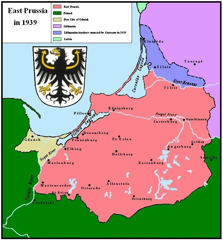 East Prussia 1939