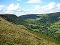 Eastern escarpment of Darren Lwyd - geograph.org.uk - 649002.jpg