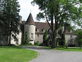Eaton Hall (King City) large house in King City, Ontario, Canada