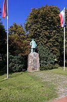 Denkmal des Großen Kurfürsten in der Parkanlage am Borbyer Ufer in Eckernförde, Schleswig-Holstein (Quelle: Wikimedia)