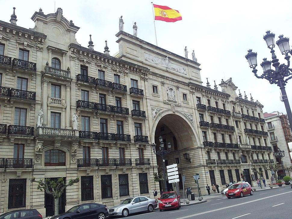 Edificio do Banco Santander