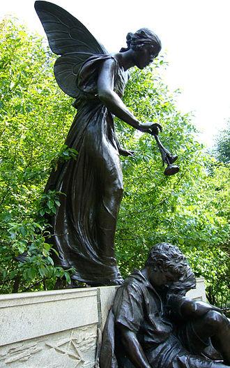Dream Lady - Image: Edward Mc Cartan, Eugene Field Memorial, Lincoln Park, Illinois
