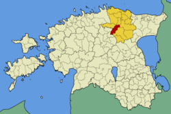 Tamsalu Parish within Lääne-Viru County.
