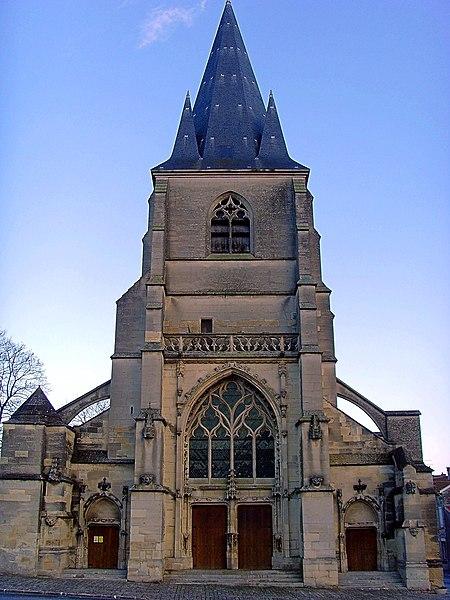 L'église de Cormicy