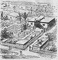 Egyiptomi villa rekonstrukció a negyedik dinasztia korából.jpg