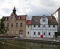 Ehemalige Walkmühle (Klinkerhaus) und Mühle (Fachwerkhaus) - Eschwege Am kleinen Wehr - panoramio.jpg