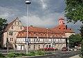 Ehemaliger neuer Marstall des Landgrafenschlosse sowie Westflügel und Pavillon des Schlosse - Eschwege Reichsächser Straße - panoramio.jpg