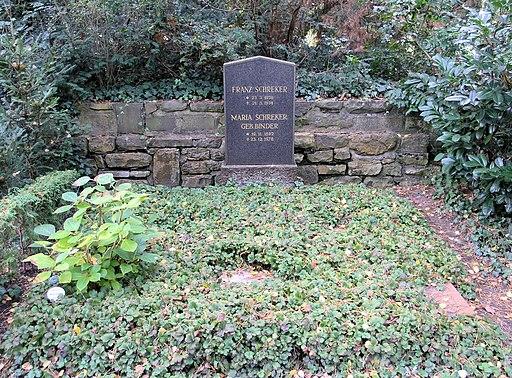 Ehrengrab Hüttenweg 47 (Dahl) Franz Schreker