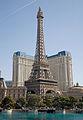 Eiffel Tower at Paris, Las Vegas by day, March 15, 2009.jpg