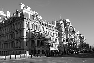 1888 in the United States - Eisenhower Executive Office Building, built in 1888 in Washington, DC