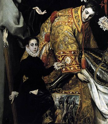 El Greco - The Burial of the Count of Orgaz (d...
