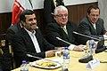 El Titular de la Función Legislativa, Fernando Cordero Cueva, recibió al presidente de la República Islámica de Irán, Mahmud Ahmadinejad (6689468863).jpg