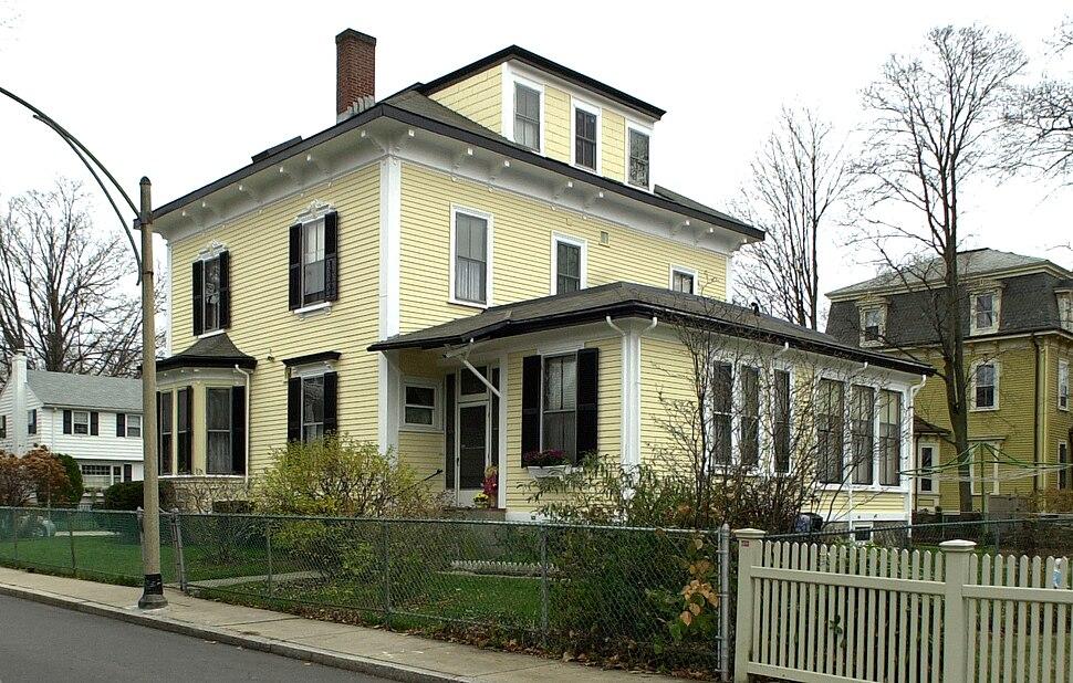 Ellen H. Swallow Richards House Boston MA 02