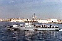 Missile speedboat Elster
