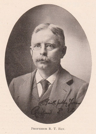 Richard T. Ely - Ely as he appeared in 1903