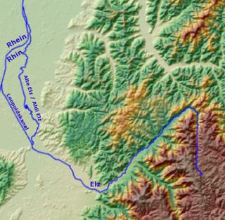 Elz (Rhine) tributary of the Rhine