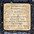 Emden, Stolperstein Franz Ambrasath.jpg