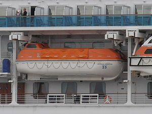 Emerald Princess Lifeboat Tallinn 11 July 2012.JPG