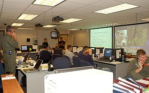 Naval Air Station Fort Worth Joint Reserve Base - The Emergency Operation Center at NAS/JRB Fort Worth