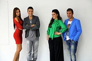 X Factor Adria - 2013 judging panel.