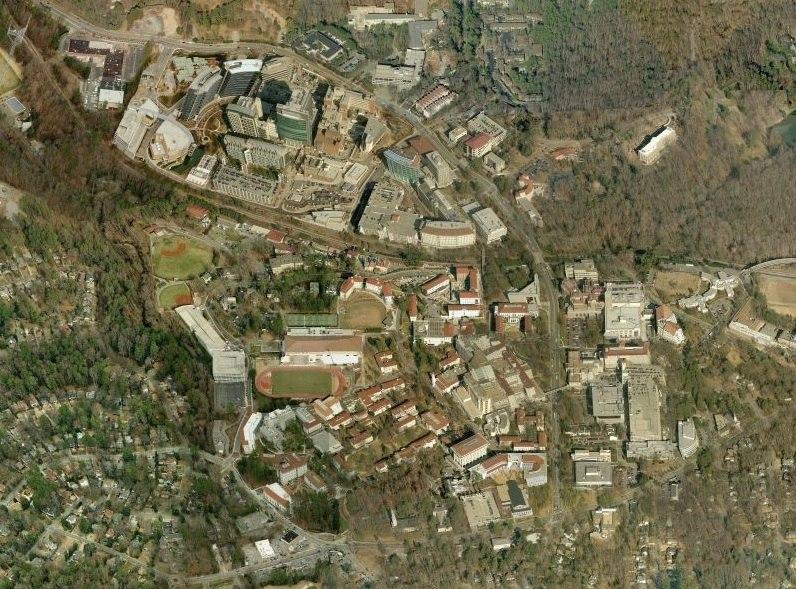Emory Campus Aerial Image