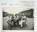 Enemy Activities - Internment Camps - Fort Douglas, Utah - String quintet. U.S. War Prison Barracks, Fort Douglas, Utah - NARA - 31479023.jpg