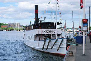 Oskarshamn Shipyard - Image: Enkoping (5721525533)