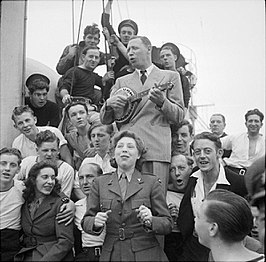 George Formby in 1944