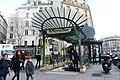 Entrée Métro Châtelet place Ste Opportune Paris 3.jpg