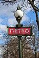 Entrée Métro Porte Dauphine Paris 2.jpg