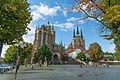 Erfurter Dom, Domplatz und Details vom Dom (01).jpg