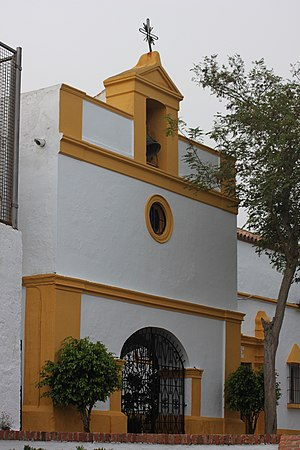 Ermita de San Antonio - Image: Ermita de San Antonio de Padua en el monte Hacho de Ceuta