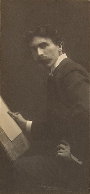 Ernest Thompson Seton - Seton early in his writing career