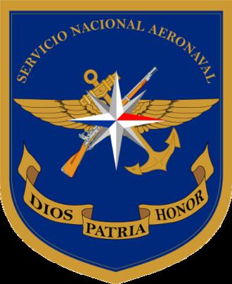 National Aeronaval Service - Shield of the Servicio Nacional Aeronaval de Panamá