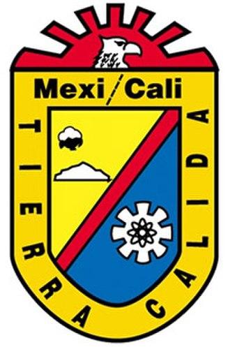 Mexicali Municipality - Image: Escudo mexicali
