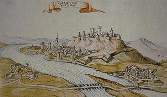 Štúrovo - Párkány and Esztergom in 1664