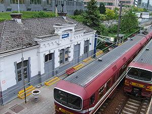 Etterbeek railway station - Image: Etterbeek station